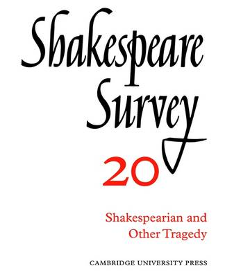 "Shakespeare Survey Shakespeare Survey ""Macbeth"" v.19 by Kenneth Muir"