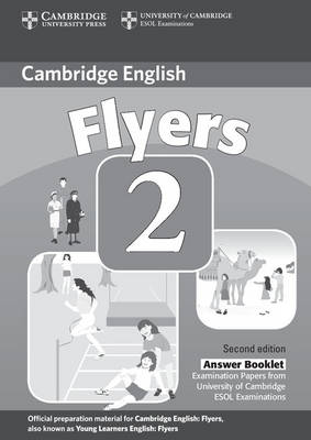 Cambridge Young Learners English Tests Flyers 2 Answer Booklet book
