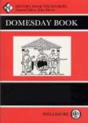 Domesday Book Hampshire (hardback) by John Morris