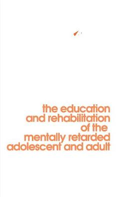 Behavior Modification in Mental Retardation book