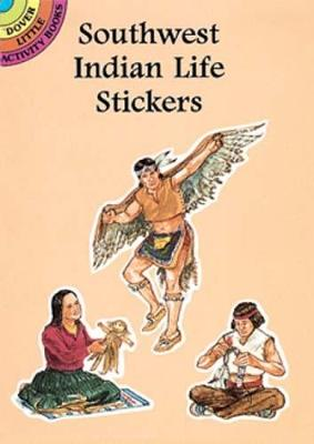 Southwest Indian Life Stickers by Steven James Petruccio