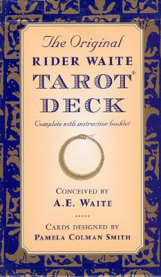 Original Rider Waite Tarot Deck book