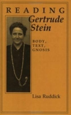 Reading Gertrude Stein book