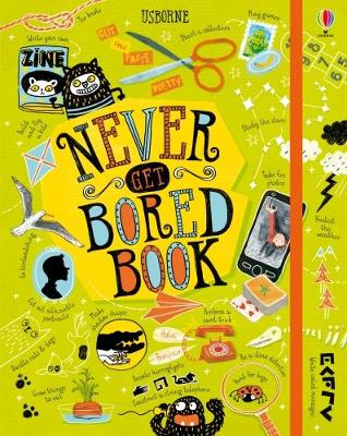 Never Get Bored Book by Various