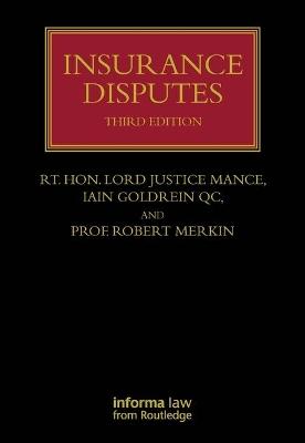 Insurance Disputes by Professor Robert M. Merkin