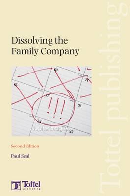 Dissolving the Family Company book