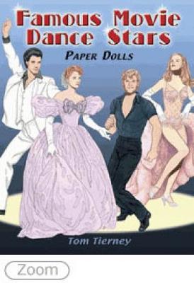 Famous Movie Dance Stars Paper Dolls book