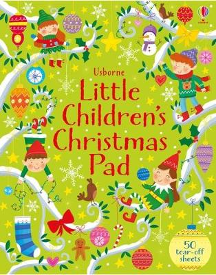 Little Children's Christmas Activity Pad by Kirsteen Robson