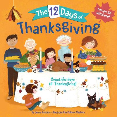 12 Days of Thanksgiving book