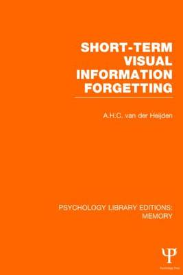 Short-Term Visual Information Forgetting book