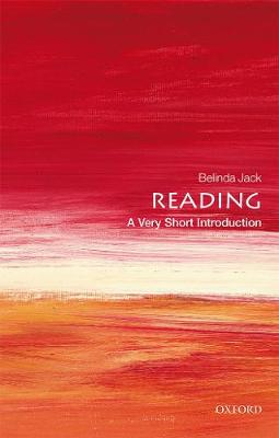 Reading: A Very Short Introduction by Belinda Jack