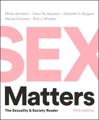 Sex Matters: The Sexuality and Society Reader by Wendy Simonds