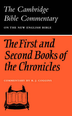 The First and Second Books of the Chronicles by R.J. Coggins