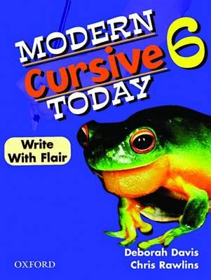 Modern Cursive Today Victoria Year 6 book
