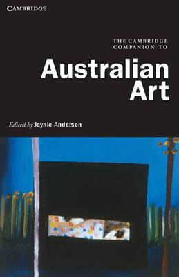 Cambridge Companion to Australian Art book