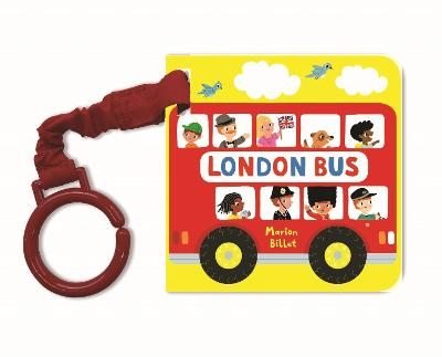 London Bus Buggy Buddy by Marion Billet
