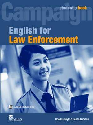 English for Law Enforcement Student's Book Pack by Charles Boyle