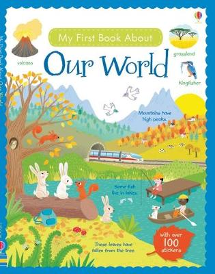 My First Book About Our World Sticker Book by Felicity Brooks