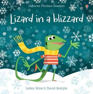 Lizard in a Blizzard by Lesley Sims