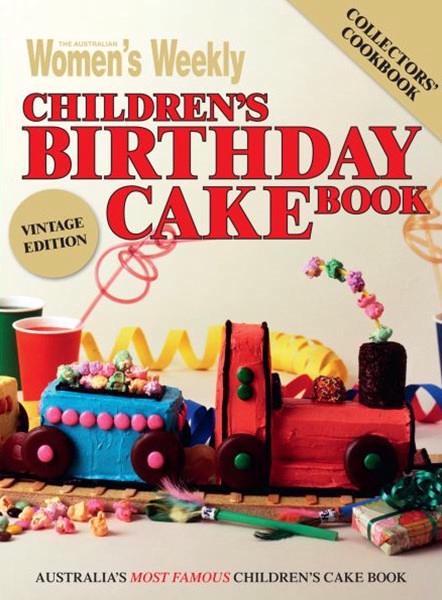 Children's Birthday Cake Book - Vintage Edition book
