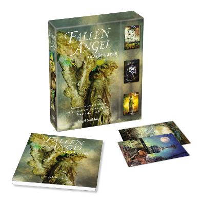 Fallen Angel Oracle Cards: Discover the Art and Wisdom of Prediction with This Insightful Book and 72 Cards by Nigel Suckling