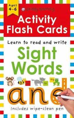 Activity Flash Cards Sight Words by Roger Priddy