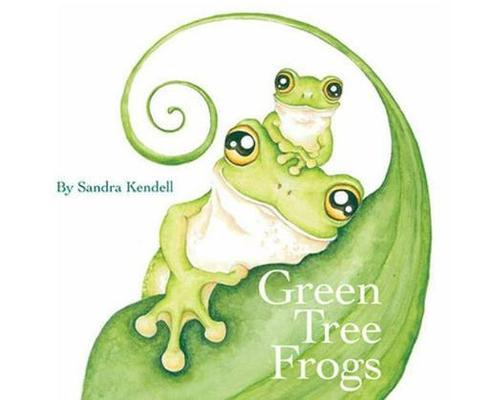 Green Tree Frogs by Sandra Kendell