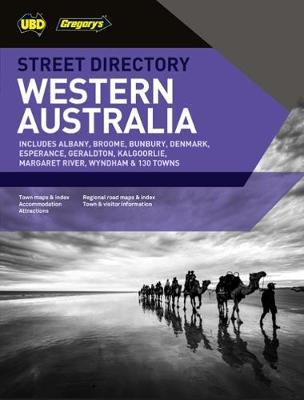 Western Australia Street Directory 16th ed by UBD Gregory's