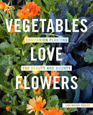 Vegetables Love Flowers by Lisa Ziegler