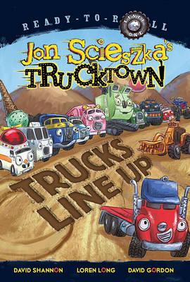 Trucks Line Up by Jon Scieszka