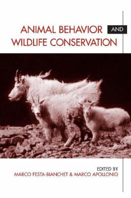 Animal Behavior and Wildlife Conservation book