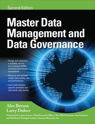 MASTER DATA MANAGEMENT AND DATA GOVERNANCE by Alex Berson