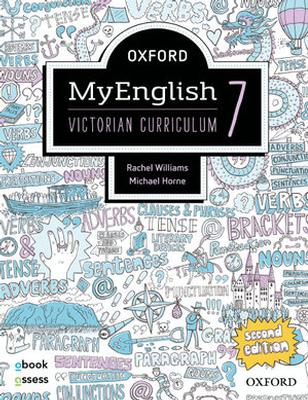 Oxford MyEnglish 7 VIC Student book + obook assess by Rachel Williams