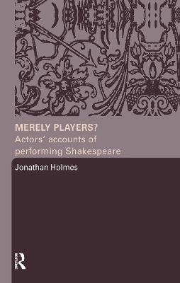 Merely Players? book