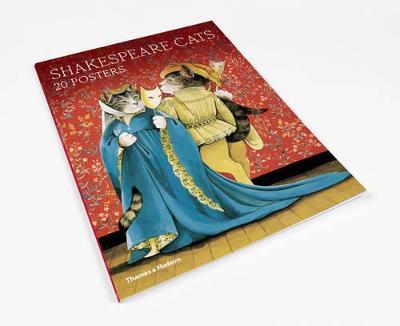 Shakespeare Cats: Poster Book by Susan Herbert