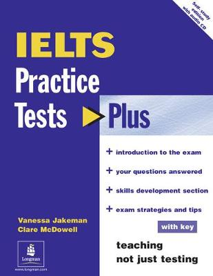 Practice Tests Plus IELTS With Key for Pack by Vanessa Jakeman