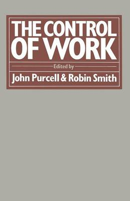 The Control of Work by John Purcell