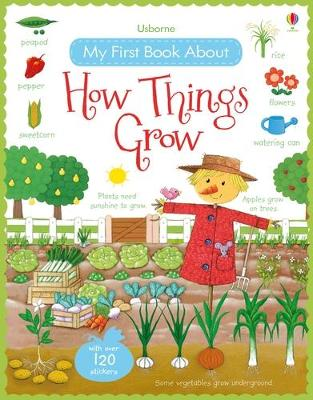 My First Book About How Things Grow Sticker Book by Felicity Brooks