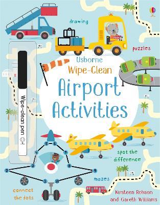 Wipe-Clean Airport Activities by Kirsteen Robson
