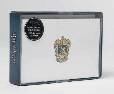 Harry Potter: Ravenclaw Foil Note Cards (Set Of 10) by Insight Editions