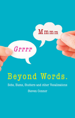 Beyond Words by Prof. Steven Connor