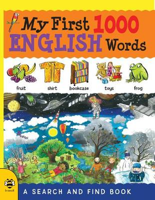 My First 1000 English Words by Catherine Bruzzone