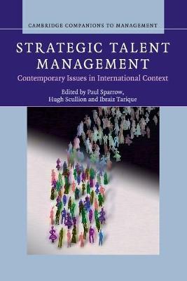 Strategic Talent Management by Paul Sparrow