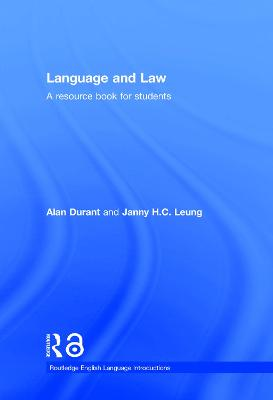 Language and Law book