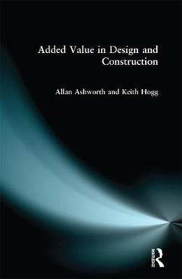 Added Value in Design and Construction book