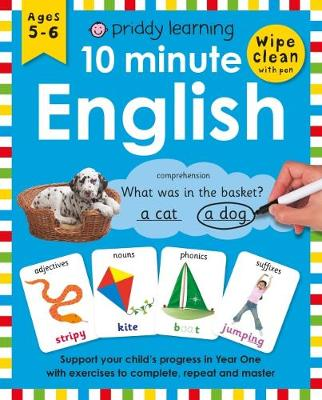 10 Minute English by Roger Priddy