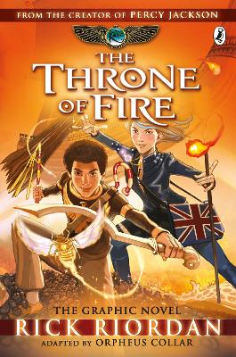 Throne of Fire: The Graphic Novel (The Kane Chronicles Book 2) book