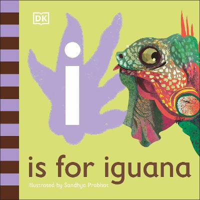 I is for Iguana book