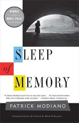 Sleep of Memory by Patrick Modiano
