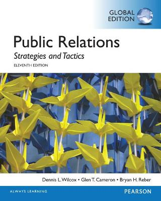 Public Relations: Strategies and Tactics, Global Edition book